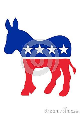 Free Democrat Donkey Royalty Free Stock Image - 9639966
