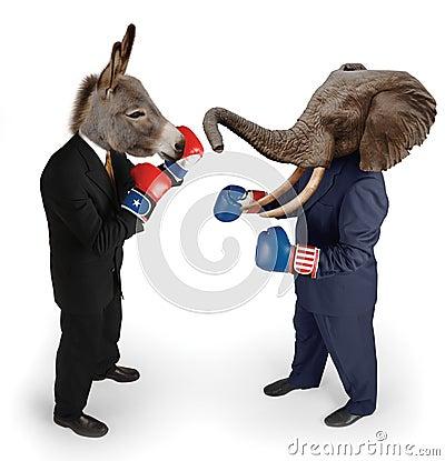 Free Democrat Vs. Republican Stock Images - 2997564