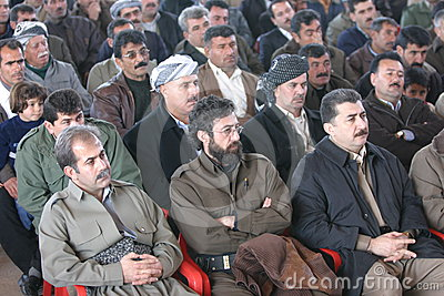 Democratic Party of Iranian Kurdistan Editorial Stock Image