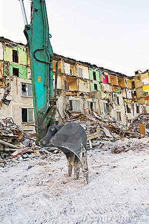 Demolish house