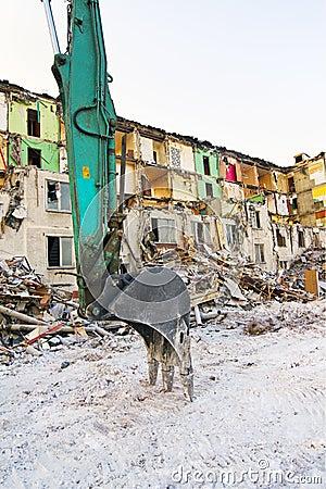 Demolish house