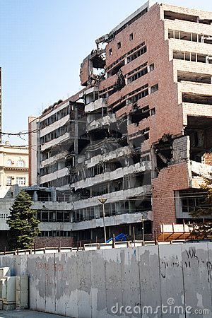 Free Demolished Buildings In Belgrade Stock Photography - 20281722