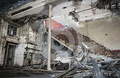 Demolished Room