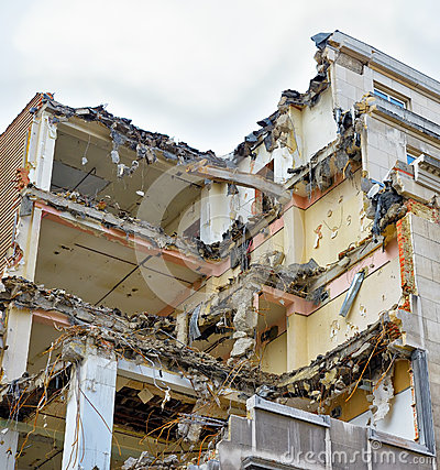 Demolishing of old house