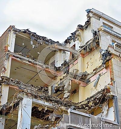 Demolishing of old house