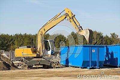 Demolition bulldozer