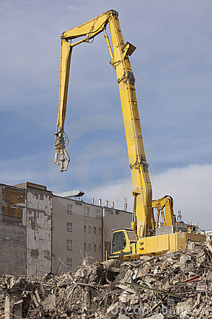 Demolition machine