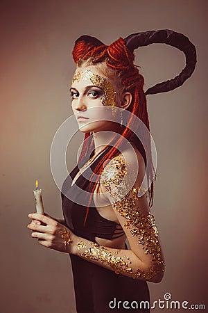 Free Demon Royalty Free Stock Image - 53130656