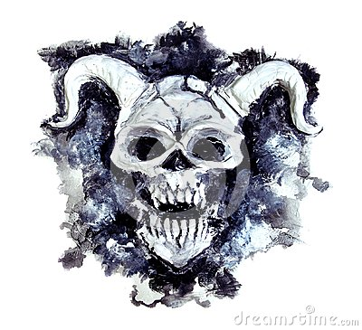 Free Demon Creature On Texture Background 4 Royalty Free Stock Images - 119392409