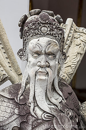 The demon guardian, Chinese Stone
