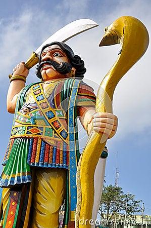 Demon Mahishasura, Mysore, India