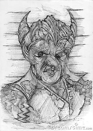 Demon s Face