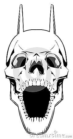Demon skull.