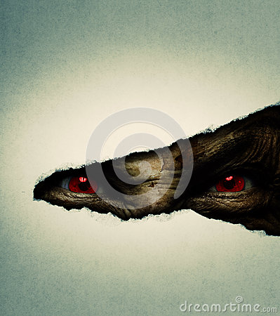 Free Demonic Ugly Face Royalty Free Stock Image - 29103226