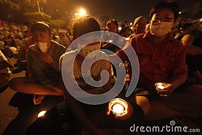 Demonstration, Say No to China! Say Yes to Taiwan Editorial Photo