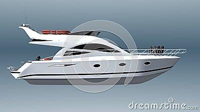 Demonstrationsfartyg stock illustrationer