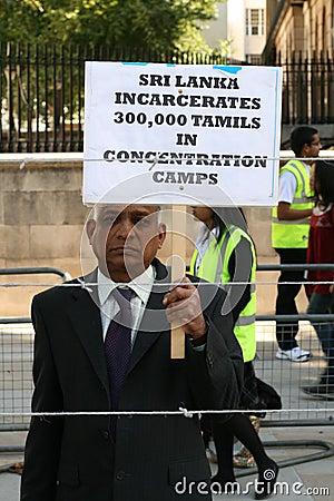 Demonstrator / Free Tamils