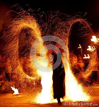 Demostración 15 del fuego