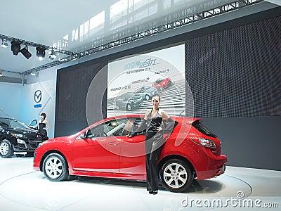 Demostración de coche Imagen de archivo editorial