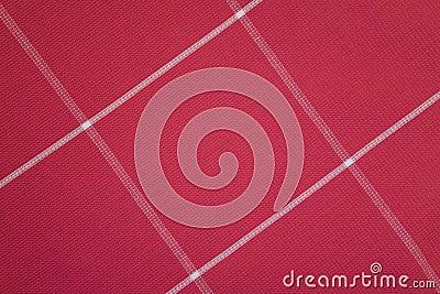 Den röda textilen mönstrar