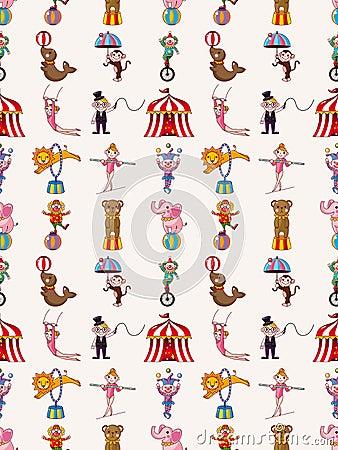 Den Seamless cirkusen mönstrar