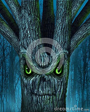 Spökad Tree