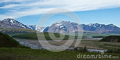 Denali s Rivers and Mountains