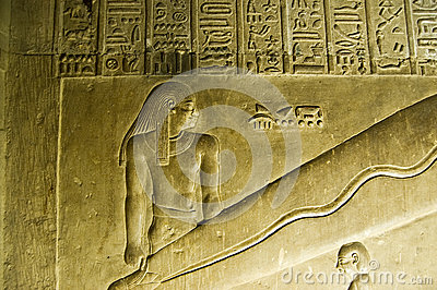 Dendera Lights detail, Egypt