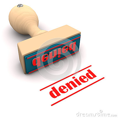 Free Denied Rubber Stamp Stock Images - 29779694