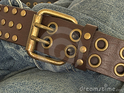 Denim and belt 1