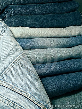 Free Denim Blue Jeans. Stock Photos - 338583