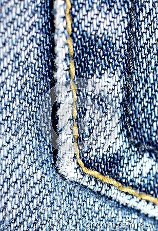 Denim close up