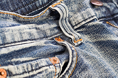 Denim close up