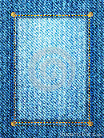 Denim frame vertical