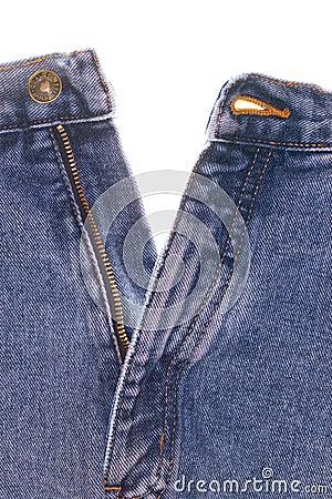 Denim Jeans Front