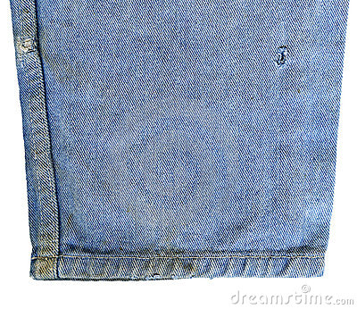 Denim jeans isolated