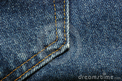 Denim Jeans Pocket Detail