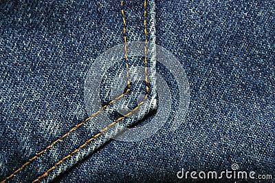 Denim Jeans Pocket Detail