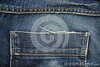 Denim jeans trousers pocket