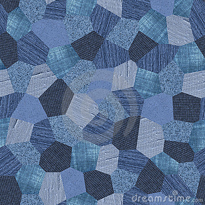 Free Denim Pattern Collage Seamless Texture Stock Images - 7013734