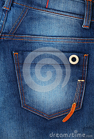 Free Denim With Pocket Royalty Free Stock Images - 32594059