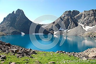 Deniz Golu Lake, kackar Turkey