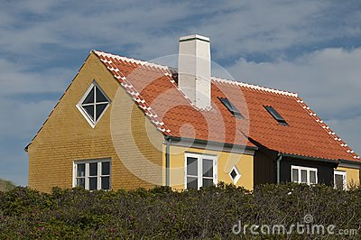 Denmark colored houses