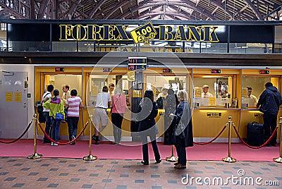 DENMARK_forex bank Editorial Photography