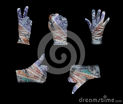 Denmark money gloves