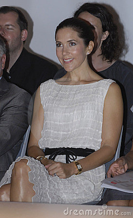 DENMARK_PRINCESS MARY AT KIDS CIFF SHOW Editorial Stock Photo