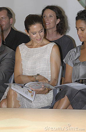 DENMARK_PRINCESS MARY AT KIDS CIFF SHOW Editorial Photography