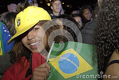 DENMARK_RIO GETS OLYMPICS 2016 Editorial Stock Photo