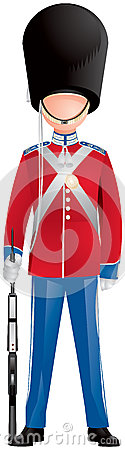 Denmark Royal Life Guard Soldier