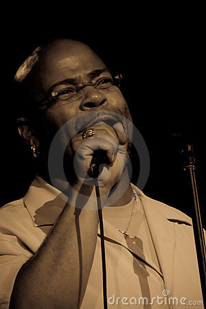 Dennis Montgomery III at Umbria Jazz 2011 Editorial Stock Image